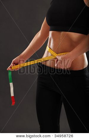 Measuring Her Slim Waist