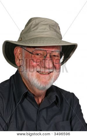 Man With Hat 1
