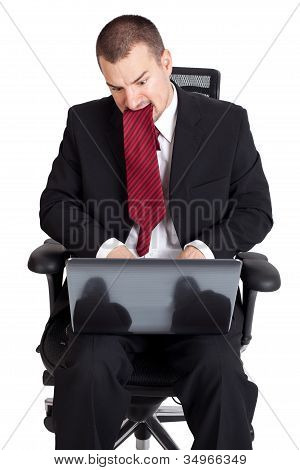 Businessman In A Crisis
