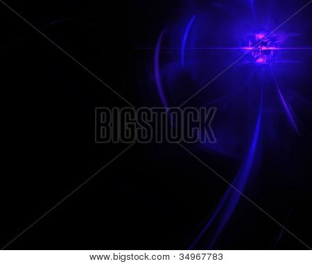 Abstract Background. Fractal Radiating Star