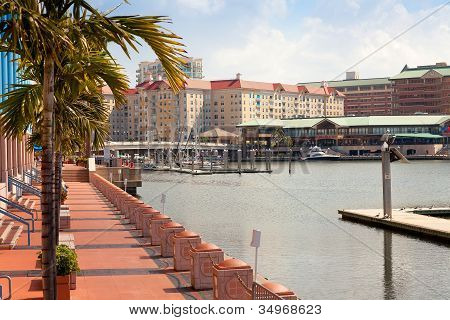 Tampa Convention Center And Harbour Island, Tampa, Florida