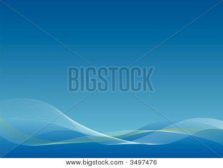 Blue Blend Background