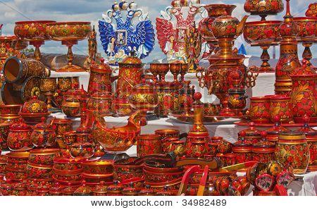 Souvenirs aus Russland