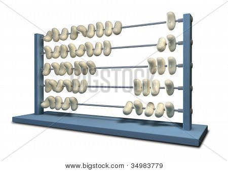 Bean Counting Abacus