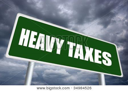 Pesados impostos