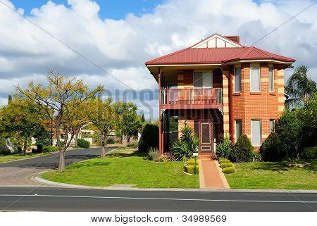 Street Of Residential Houses