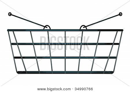 Shopping Basket Side View
