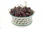 Bowl Of Northwestern Bing Cherries