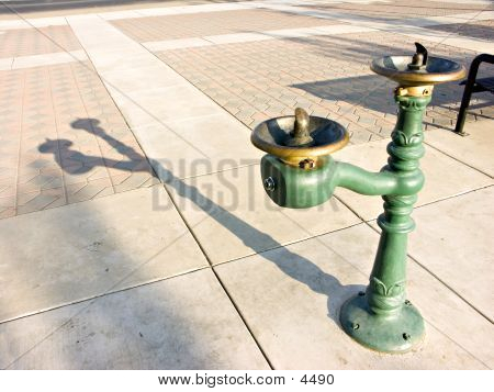 Water Fountain Shadow