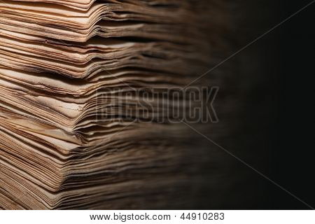 paper pages background, old book