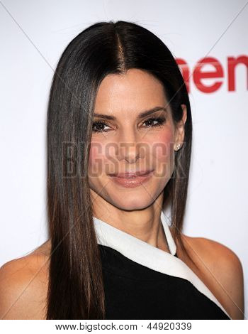 LAS VEGAS - APR 18:  Sandra Bullock arrives to the CinemaCon 2013: 20th Century Fox  on April 18, 2013 in Las Vegas, NV.