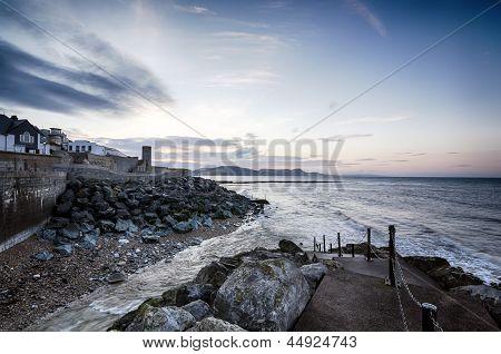 Daybreak At Lyme Regis