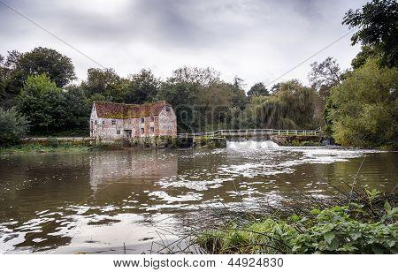Watermill At Sturmninster Newton
