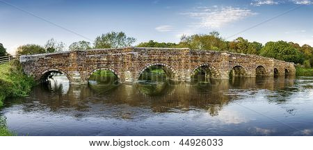 White Mill Bridge In Dorset