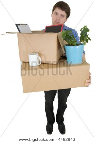 Man Moves In Other Office