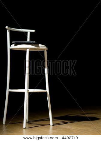 Stool On Theater Scene