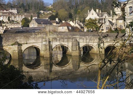 Bridge At Bradford On Avon. England