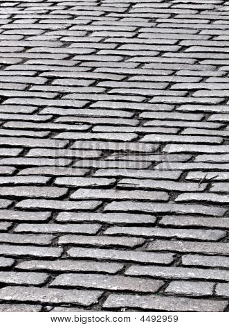 Close Up Of Cobbles