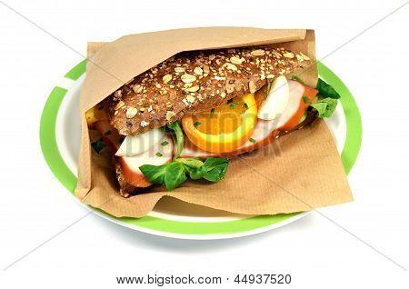 Sandwich chicken.