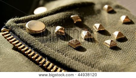 Jacket With Spikes, Details