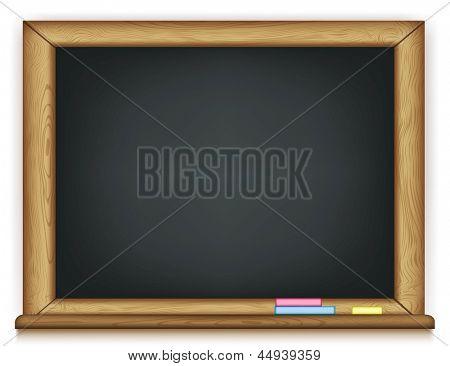 school board. Rasterized illustration. Vector version in my portfolio