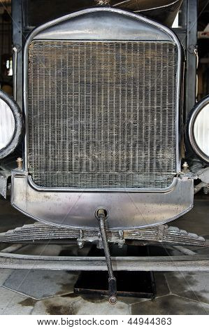 Antique Car Front View