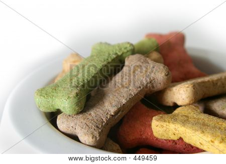 Dog Treats Closeup
