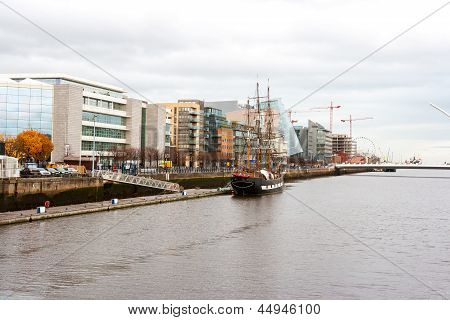 Dublin Docklands. Ireland