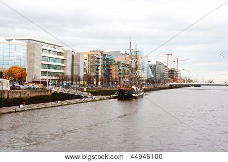 Dublin Docklands. Irland
