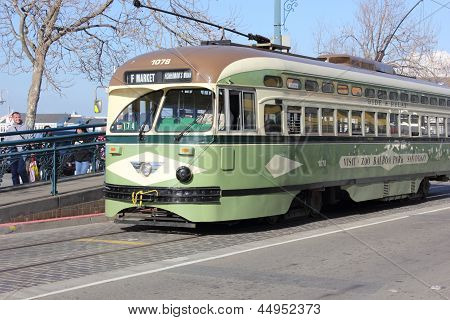 The trams of San Francisco