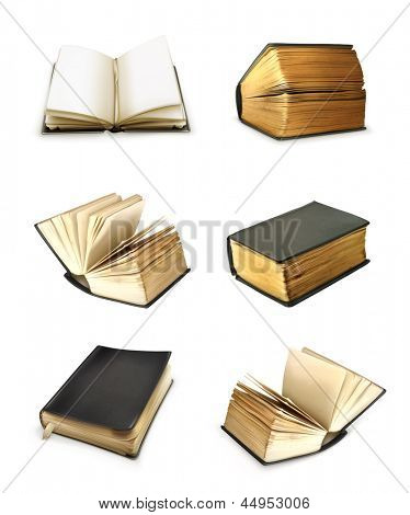 Book set vector