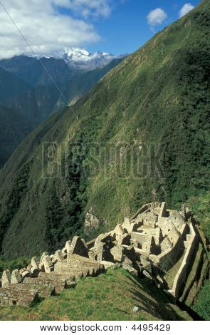 Abandoned Inca Village