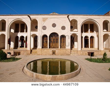 Historic Old House In Kashan, Iran