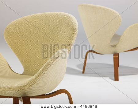 Swan Chair Detail