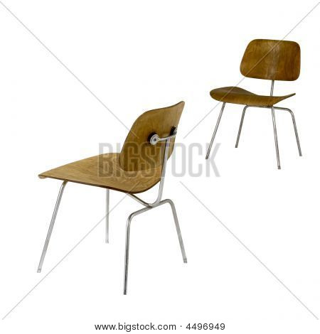 Vintage Classroom Chairs