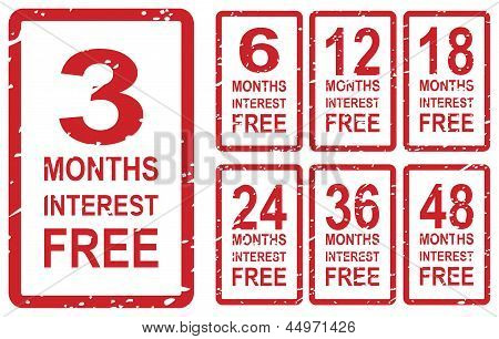 Interest Free Stamps