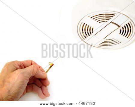 Smoke Detector Fire Alarm Testing