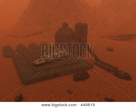 Space Mining Operation