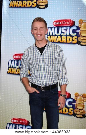 LOS ANGELES - APR 27:  Jason Dolley arrives at the Radio Disney Music Awards 2013 at the Nokia Theater on April 27, 2013 in Los Angeles, CA