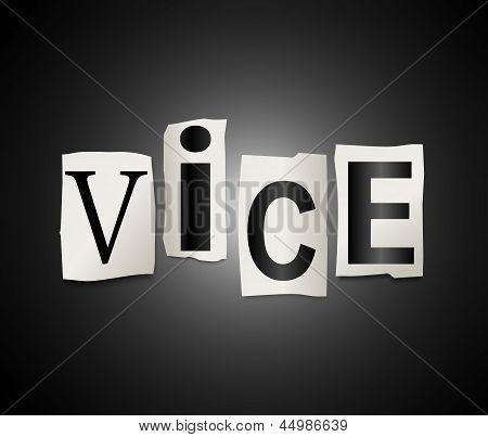 Vice Concept.