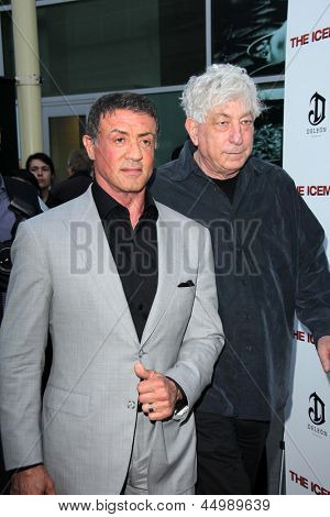 LOS ANGELES - APR 22:  Sylvester Stallone arrives at