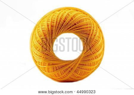 Yellow Cotton Spool