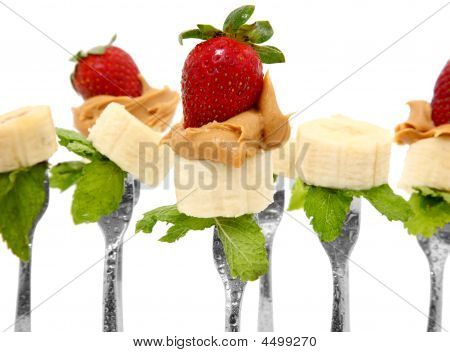Peanut Butter Banana And Strawberry