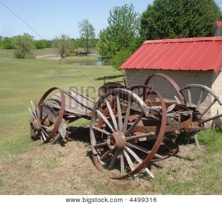 Delapidated Wagon