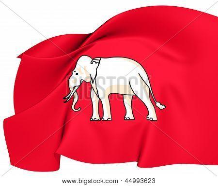 Flag Of Thailand (1855-1916)