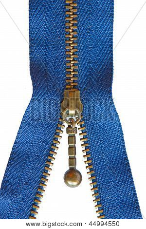Blue Zipper