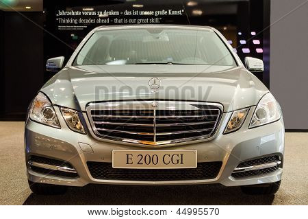 Nueva serie de Mercedes-Benz E-class