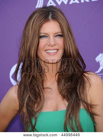 LAS VEGAS - APR 07:  Michelle Stafford arrives to the Academy of Country Music Awards 2013  on April 07, 2013 in Las Vegas, NV.
