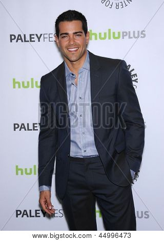 LOS ANGELES - MAR 10:  Jesse Metcalfe arrives to the Paley Fest 2013 -