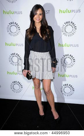 LOS ANGELES - MAR 10:  Jordana Brewster arrives to the Paley Fest 2013 -